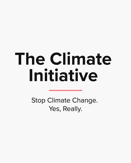 The Climate Initiativ- Stop Climate Change